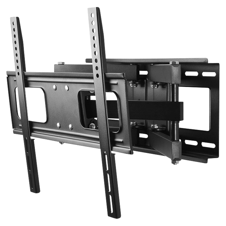 WENTRONIC TV EasyFold L Wandhalterung, für TVs von 66 cm-147 cm (26''-58''), verstellbarer Wandabstand, neig- und schwenkbar, max. Traglast 40 kg