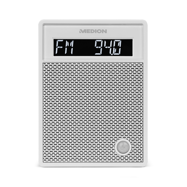 MEDION® LIFE® P65702 Bluetooth® Steckdosenradio mit LC-Display, NFC, PLL-UKW Radio, Freisprechfunktion, USB-Ladefunktion (B-Ware)