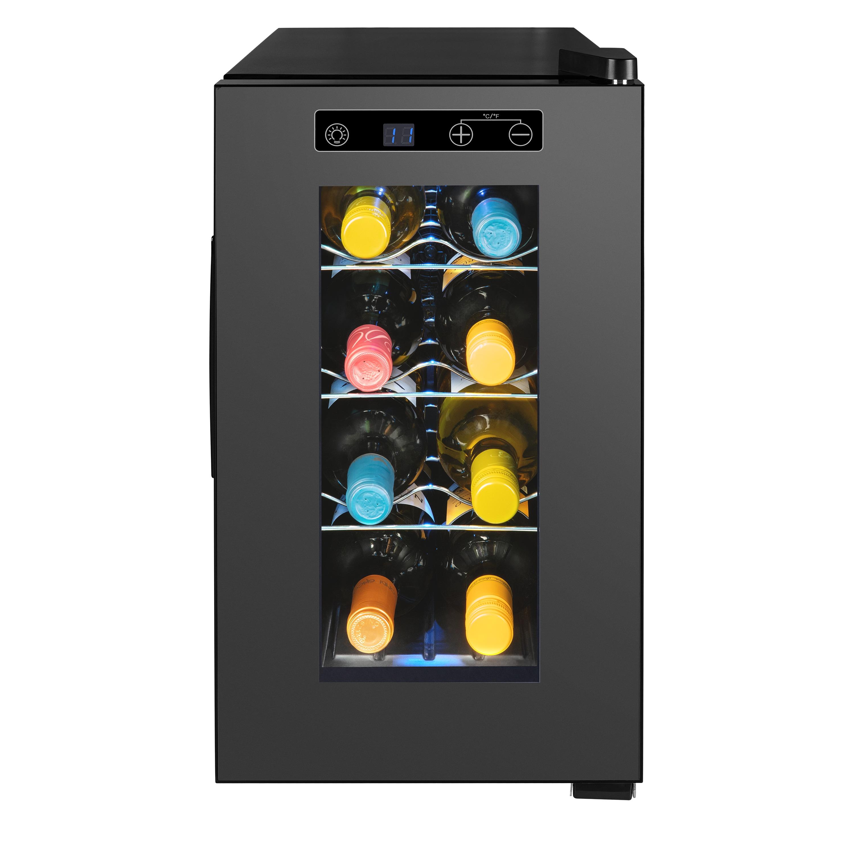 MEDION® Wijnkoelkast MD 37430 | 21 Liter inhoud | Instelbare temperatuur tussen 7°C-18°C | 35 dB