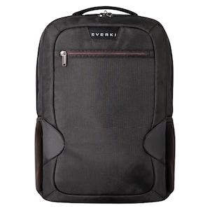 EVERKI Studio Laptop-Rucksack, für Laptops bis 14,1''/MacBook Pro 15'', weich gefüttertes Fach für iPad/Kindle/Tablet, geräumige und bestens organisierte Fächer