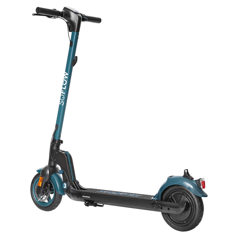 SOFLOW S03 E-Scooter, mit deutscher Straßenzulassung, Allrounder mit Leistung und niedrigem Gewicht, alltagstaugliche Reichweite