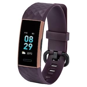 MEDION® LIFE® Fitness tracker S3600 (roze/paars) | Hartslagmonitor | Verschillende sport instellingen | IP68 Waterbescherming