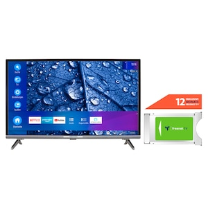 MEDION® LIFE® P13225 80 cm (31,5'') Full HD Smart-TV + DVB-T 2 HD Modul (12 Monate freenet TV gratis) - ARTIKELSET