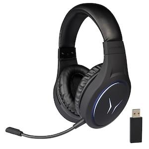 MEDION® ERAZER Mage X10 Casque de jeu sans fil | Qualité sonore exceptionnelle | Microphone intégré pour des conversations claires | Éclairage RGB | Meilleur confort de port