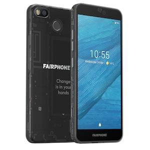 FAIRPHONE 3 mit 64 GB, dark translucent