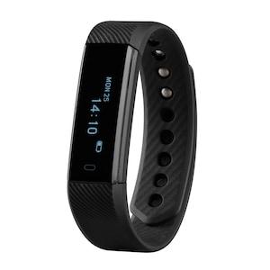 MEDION® LIFE® E1500 Fitnessarmband mit OLED Display, Schrittzähler, Schlaftracking, flexibles Armband, wassergeschützt nach IP67