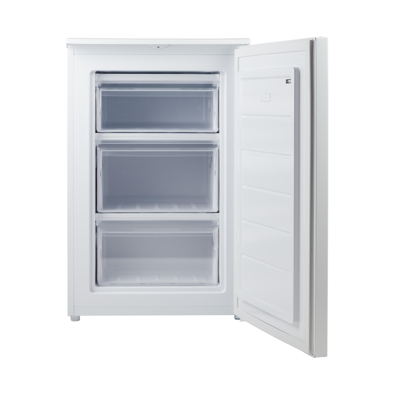 MEDION® Gefrierschrank MD 37421, 82 l Volumen, Gefrierkapazität 4 kg/24 Std., manuelle Temperatureinstellung, 3 Schubladen