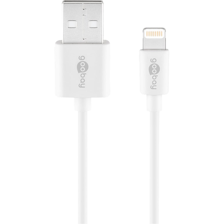 WENTRONIC Lightning USB Lade- und Synchronisationskabel, Apple-MFI-Zertifizierung, Hi-Speed Datentransfer mit bis zu 480 Mbit/s