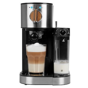MEDION® Espressomachine MD 17116 | 1300 Watt | Melkopschuimer | Power LED