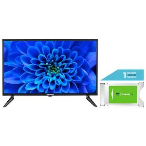 MEDION® LIFE® E12462 59,9 cm (23,6'') Full HD LCD-TV + DVB-T 2 HD Modul (1 Monat freenet TV gratis) - ARTIKELSET