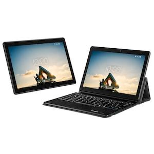 "MEDION® LIFETAB® E10713 Tablet, 25,5 cm (10"") FHD Display, Betriebssystem Android™ 10, 64 GB Speicher, 3 GB RAM, Quad-Core-Prozessor, LTE, inkl. Tablet Tastatur Dock (MD 61763)"