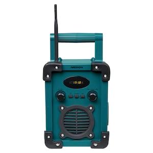 MEDION® LIFE® E66430 Bluetooth® Baustellenradio, LED-Display, PLL-UKW Radio, Spritzwassergeschützt (IP44) (B-Ware)