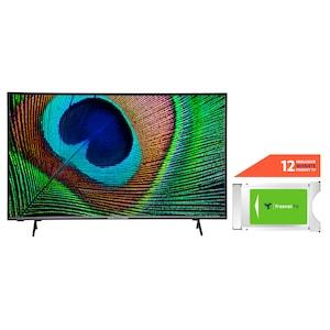 MEDION® LIFE® X15532 138,8 cm (55'') Ultra HD Android TV + DVB-T 2 HD Modul (12 Monate freenet TV gratis) - ARTIKELSET