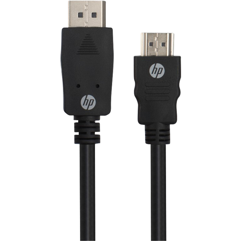 WENTRONIC DisplayPort auf HDMI Kabel, erweitern Sie Ihren Notebook-Bildschirm durch einen HDMI™-Monitor, unterstützt HDCP™, Audio-Passthrough und bis zu 1080p,