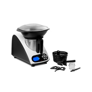 MEDION® Keukenmachine met kookfunctie MD 16361 | 11 bedrijfsniveaus | Tot 1000 Watt vermogen | Automatische uitschakeling