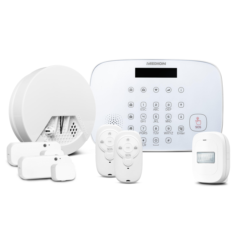 MEDION® Smart Home Alarmsystem Zentrale P85731 inkl. umfangreichem Zubehör - Artikelset 2