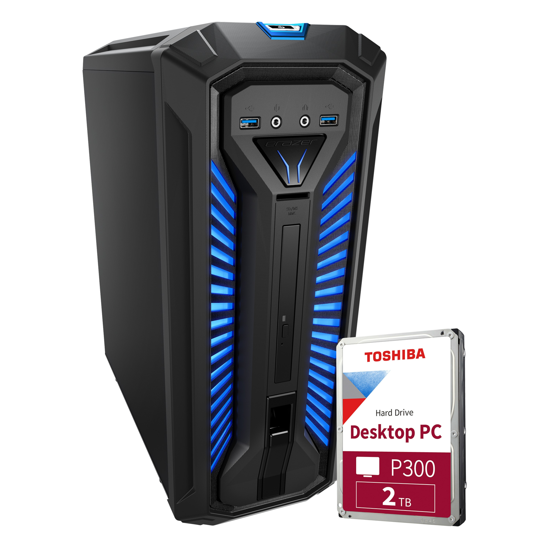 MEDION® ERAZER® Bandit P10 Core Gaming PC + 2TB HDD - ARTIKELSET