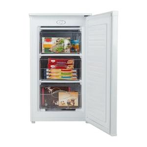 MEDION® Gefrierschrank MD 37157, 60 l Volumen, mechanische Temperatureinstellung, wechselbarer Türanschlag, 3 Schubladen