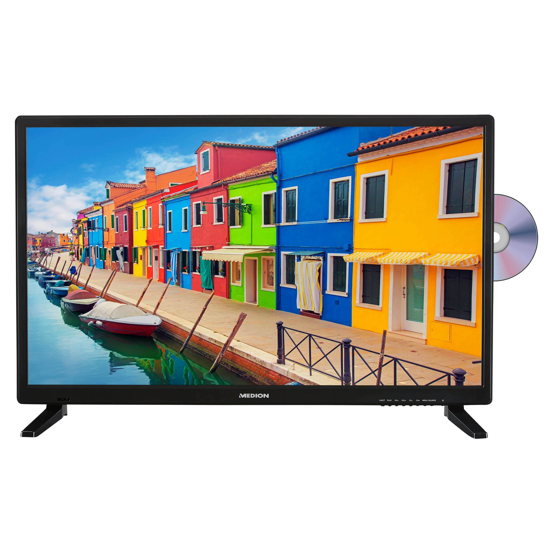MEDION® LIFE® E12837 LCD-TV, 69,9 cm (27,5'') HD Triple Tuner, integrierter DVD-Player, integrierter Mediaplayer, CI+   (B-Ware)