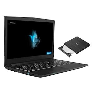 MEDION® ERAZER® P6705, 39,6 cm (15,6'')  Core Gaming Notebook + externer DVD-Brenner - ARTIKELSET (B-Ware)
