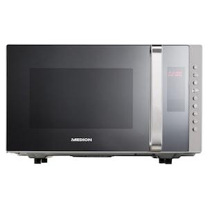 MEDION® 3in1 Mikrowelle MD 17495, Kombination aus Mikrowelle, Grill und Ofen, 10 Automatikprogramme, edles Design