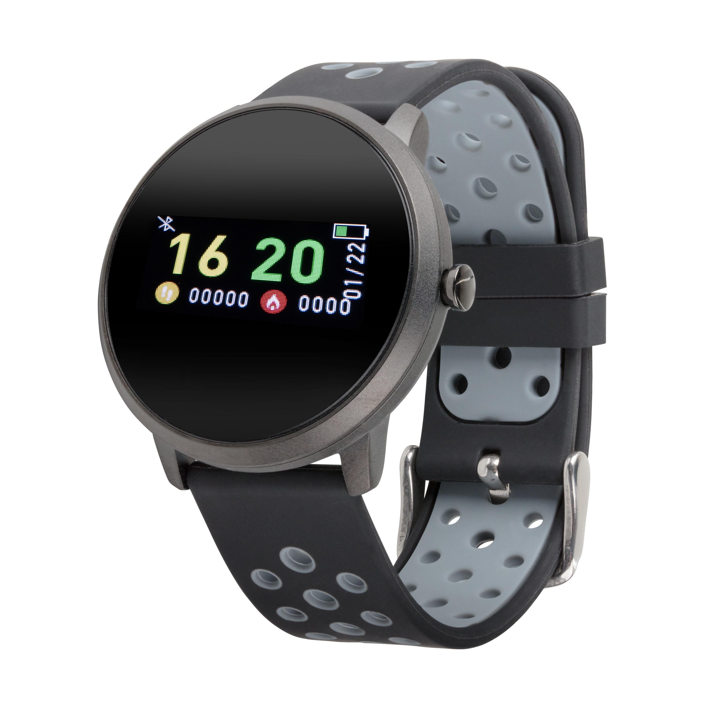 MEDION® LIFE® E1800 Fitnessuhr mit LCD Farbdisplay, Multi-Sport Modi, Herzfrequenzmesser, Schrittzähler, Metallgehäuse, Wassergeschützt nach IP 68