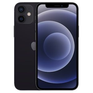 APPLE iPhone 12 mini 128 GB, schwarz