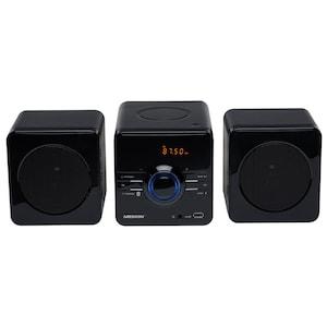 MEDION® LIFE® P64091 Micro-Audio-System, PLL-UKW Stereo Radio, Display, Bluetooth®, MP3-CD kompatibel, Wiedergabe von USB-Stick (B-Ware)