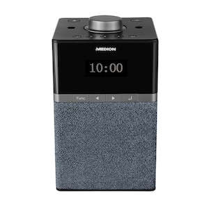 MEDION® LIFE® P66130 All-in-One Audio-System mit Amazon Alexa, perfekt für die Küche, Dot-Matrix-Display, DAB+, PLL-UKW, DLNA, WLAN, Sprachsteuerung, Multiroom, Spotify® Connect, 4 W RMS