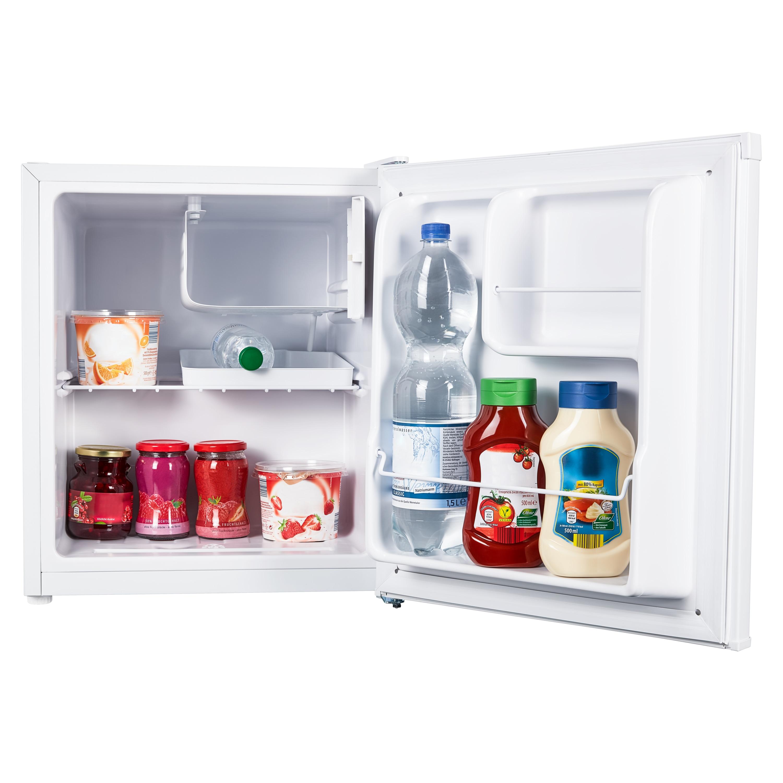 MEDION® Mini Koelkast MD 37574   41 liter inhoud   Ingebouwd ijsblokjes compartiment van 4 L   Handmatige temperatuurregeling   Vrijstaand
