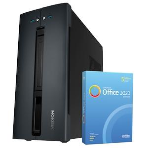 MEDION® AKOYA® E42019, AMD Ryzen™ 3 3200G, Windows10Home, 512 GB SSD, 8 GB RAM, Multimedia PC, inkl. SoftMaker Office Standard 2021