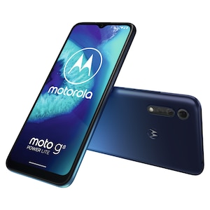 MOTOROLA moto g8 power lite Smartphone, 16,51 cm (6,5) HD+ Display, Android™ 10, 64 GB Speicher, Octa-Core-Prozessor, Dual-SIM, Bluetooth® 4.2