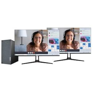 MEDION® AKOYA® E42025 Multimedia PC + 2x AKOYA® 31,5'' P53290 LED-Backlight Monitor - ARTIKELSET