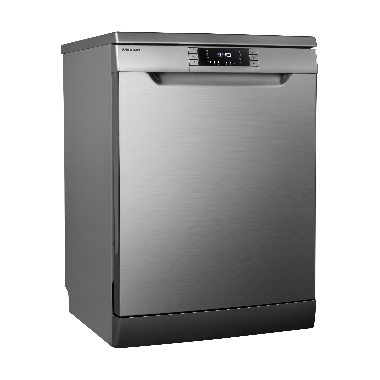 MEDION® Geschirrspüler MD 37241, Reinigungs- und Trockenwirkung A, 8 Reinigungsprogramme, Fassungsvermögen: 13 Maßgedecke