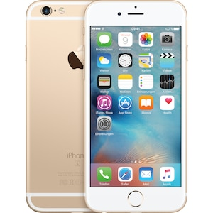 APPLE iPhone 6s Smartphone, 11,94 cm (4,7'') Retina HD Display, 128 GB Speicher, A9 Chip, LTE, generalüberholt