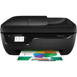 HP OfficeJet 3831 All-in-One Drucker, 5,5 cm Touch Monochrom-Display, Drucken, Kopieren, Scannen und Faxen, HP ePrint, WLAN, USB