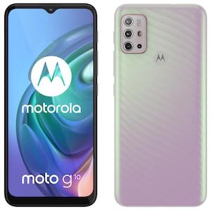 MOTOROLA moto g10 Smartphone, 16,51 cm (6,5) HD+ Display, Android™ 11, 64 GB Speicher, 4 GB Arbeitsspeicher, Octa-Core-Prozessor, Bluetooth® 5.1, Farbe: Sakura Pearl