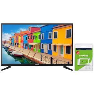"""MEDION® LIFE® E13225, LED-Backlight TV, 80 cm (31,5""""), inkl. DVB-T 2 HD Modul (3 Monate freenet TV gratis) - ARTIKELSET"""
