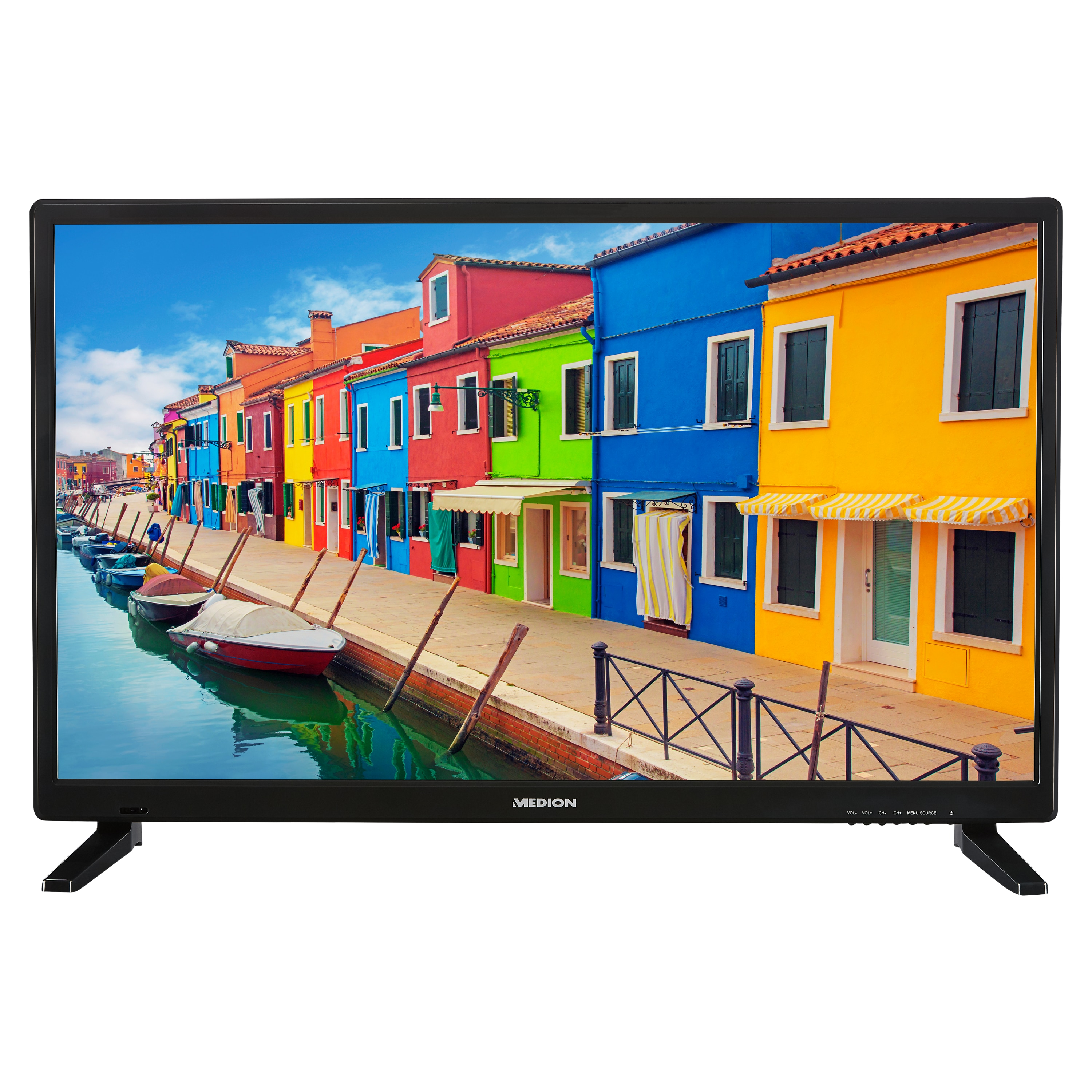 MEDION® LIFE® E12836 TV, 69,9 cm (27,5'') HD Display, HD Triple Tuner, integrierter Mediaplayer, CI+