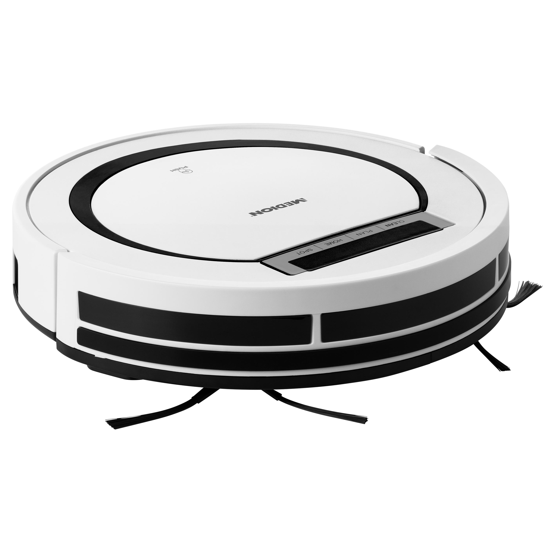 MEDION® Robotstofzuiger MD 18600 voor diverse vloeroppervlaktes | 2600 mAh accu | geschikt voor dierharen | 90 Min. gebruiksduur | programmeerbaar