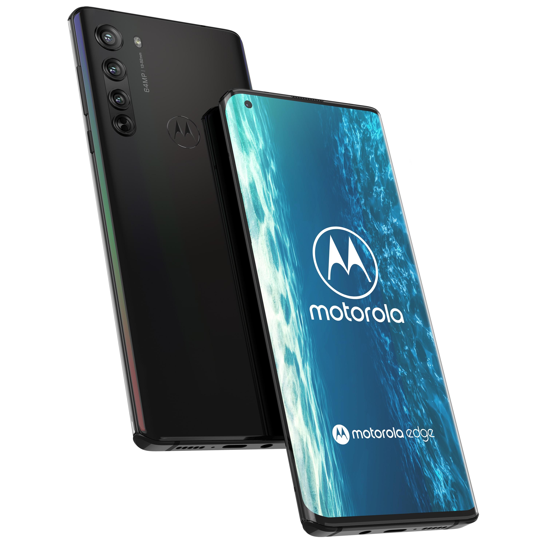MOTOROLA egde, Smartphone, 16,94 cm (6,67) FHD+ Display, Android™ 10, 128 GB Speicher, 6 GB Arbeitsspeicher, Octa-Core-Prozessor, Bluetooth® 5.1, 5G LTE
