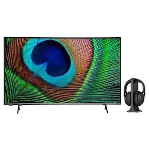 MEDION® LIFE® X14330 108 cm (43'') Ultra HD Android TV + E62003 Funkkopfhörer - ARTIKELSET