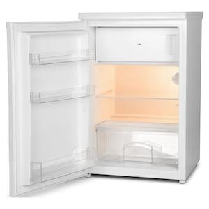 MEDION® Kühlschrank mit Gefrierfach MD 37194, 109 L Nutzinhalt, 95 l Kühlteil & 14 L Gefrierteil, wechselbarer Türanschlag
