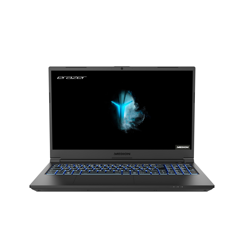 MEDION® ERAZER Crawler E10 Portable Gaming | Intel Core i5 | Windows10Famille | GeForce GTX 1650 | 15,6 pouces Full HD | 8 Go RAM | 256 Go SSD