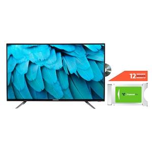 MEDION® LIFE® E14085 100,3 cm (40'') Full HD TV + DVB-T 2 HD Modul (12 Monate freenet TV gratis) - ARTIKELSET