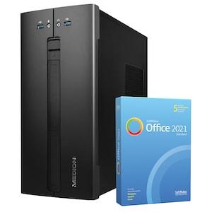 MEDION® AKOYA® E42022, Intel® Core™ i3-10100, Windows10Home, 512 GB SSD, 8 GB RAM, Multimedia PC