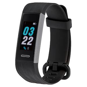 MEDION® LIFE® Fitnesstracker S3900, 2,44 cm (0,95) AMOLED Display, Herzfrequenzmesser, Multi-Sport Modi, SpO2-Messung, Staub- und Wasserschutz nach IP68