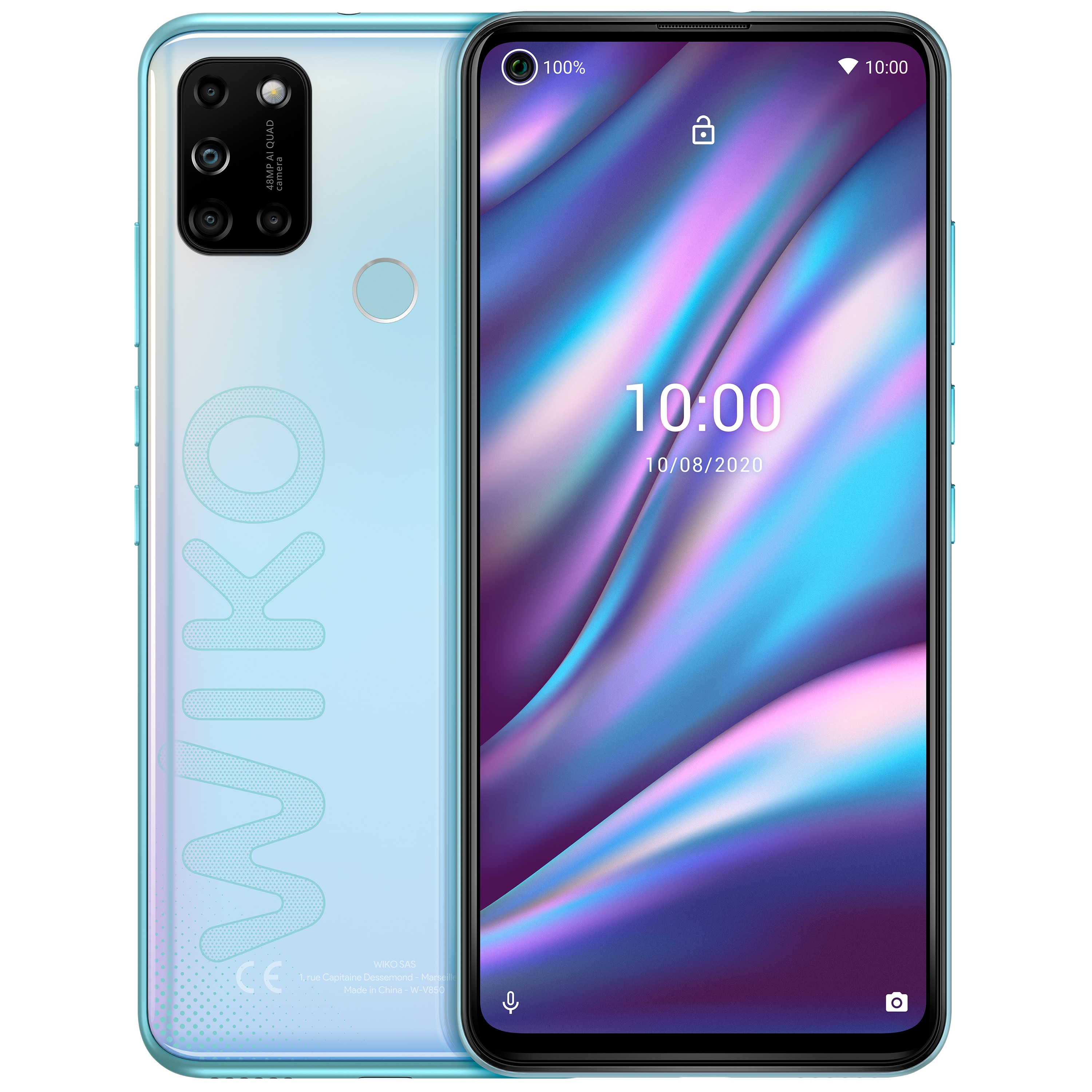 WIKO VIEW5 Plus, iceland silver
