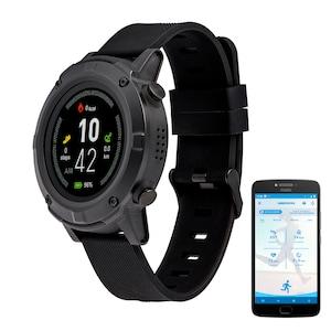 MEDION® LIFE® GPS Montre de sport S2400 | écran couleur 1,3 | moniteur de fréquence cardiaque | modes multisports | module GPS intégré | protection contre la poussière et l'eau selon IP68