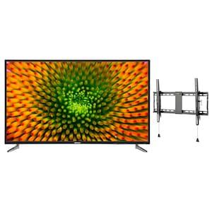 MEDION® LIFE® P16512 163,8 cm (65''), Ultra HD TV + GOOBAY Pro TILT (L) Wandhalterung - ARTIKELSET